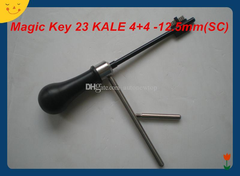 2019 free shipping NEW ARRIVAL high quality Magic Key 23 KALE 4+4 - 12.5 mm (SC) decoder and pick tool locksmith tools