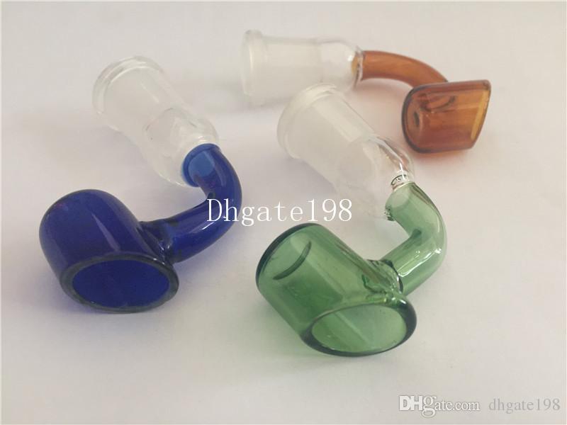 10 pçs / lote tigela de vidro colorido 14mm 18mm profunda feminino masculino bong vidro escorregador tigela para uso de jiont de vidro tubo de tubulação de água de vidro de tabaco