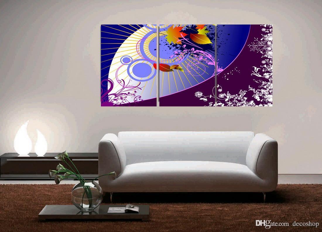 현대 아름 다운 꽃 괜 찮 아 요 꽃 그림 Giclee 캔버스에 인쇄 홈 장식 벽 예술 Set30186
