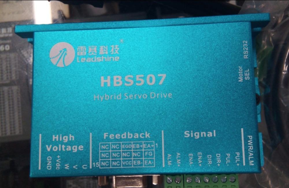 Ganze 3 Stück viel Leadshine Hybrid-Servo (HBS507 + 573HBM20-EC-1000) + SPS407 Netzteil + 3 Stück Encoder Extension 6 Meter lang