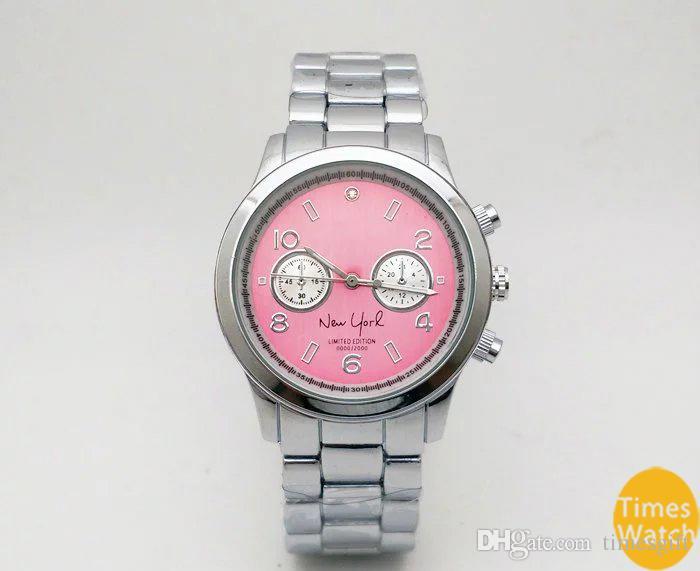 20% скидка мода M бренд наручные часы мужчины женщины роскошные золото из нержавеющей стали запястье Relojes бизнес мода кварцевые часы движение серебряные часы