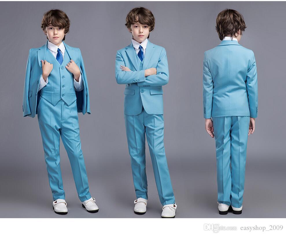 2016 Boy\'S Formal Wear Suits For Boy Notch Lapel Baby Kids Formal ...