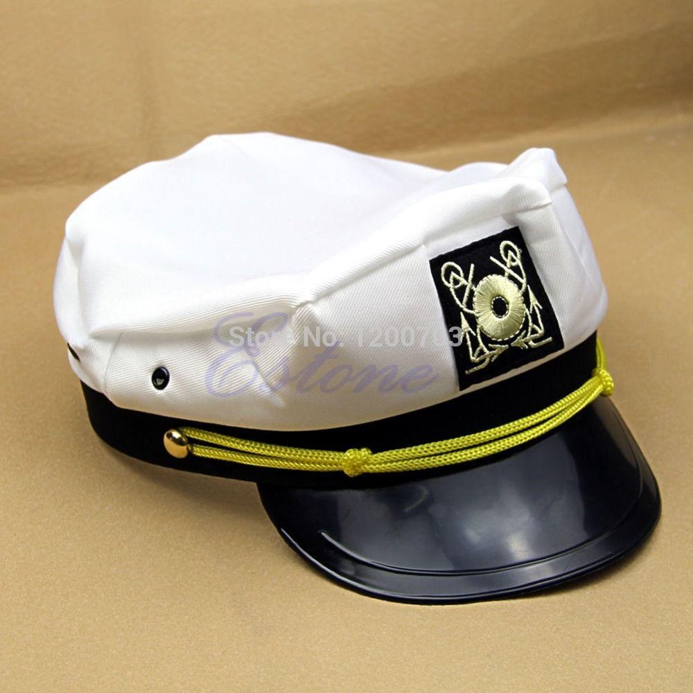 Atacado-mais novo 2015 legal considerável Skipper Sailor Boat geral Cap traje Yacht Sea capitão Hat