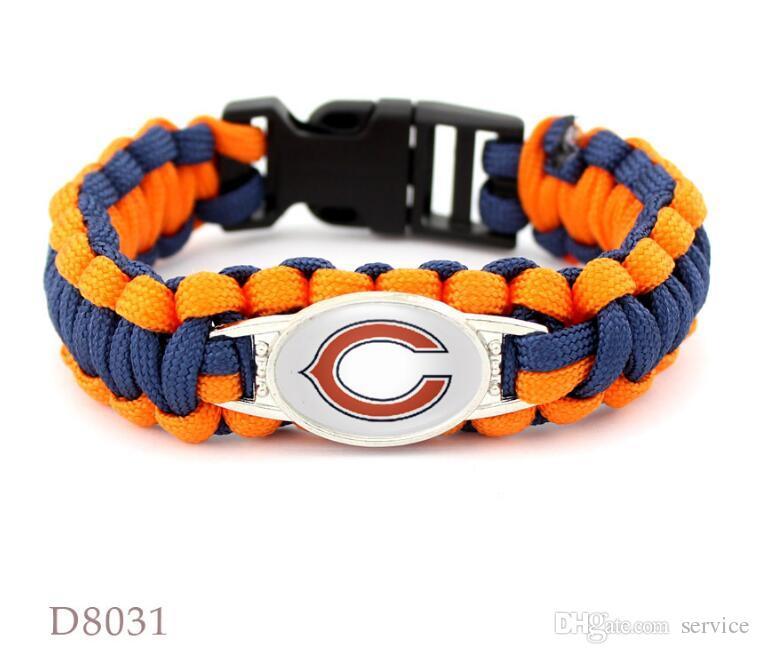 12Pcs/Lot Multic suspension-line bracelet leather bracelet beads Men's Bracelet Alloy Punk Charm Bracelets 2017