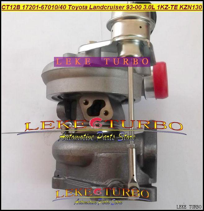 CT12B 17201-67010 17201-67040 TOYOTA LANDCRUISER 1KZ-TE 125HP HI-LUX KZN130 4 Runner 1993 3.0L D turbocharger (8)
