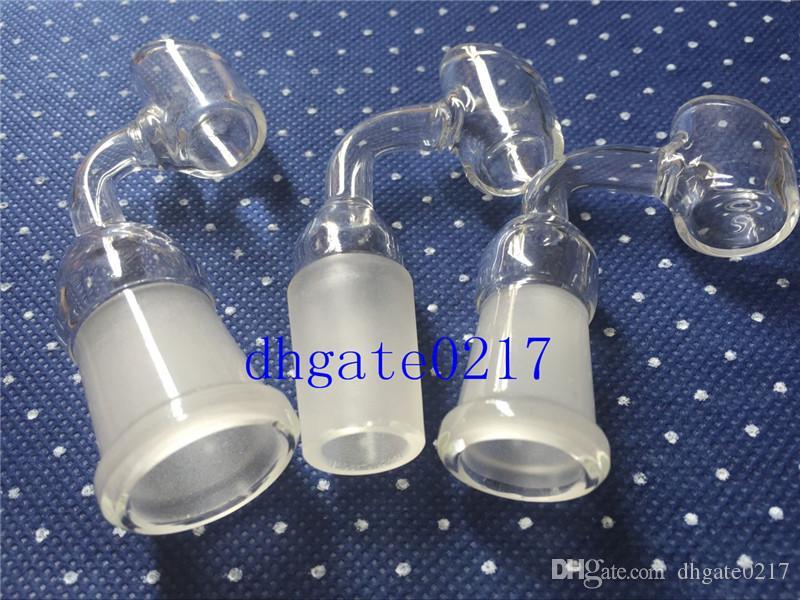 Neue mode 14mm / 18mm weiblich oder männlich Glas Banger By Liguid Sci gebogene rohr glas nagel für wasserleitung