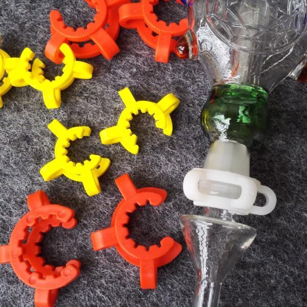 Дешевле ! 10 мм 14 мм 19 мм размер сустава пластиковые K клип Цвет пластиковые Кек лаборатории зажим клип