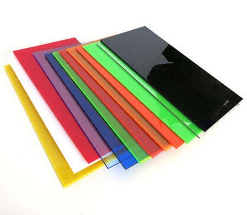 Best 2.8*200*200mm Color Transparent Acrylic Sheet Plexiglass ...