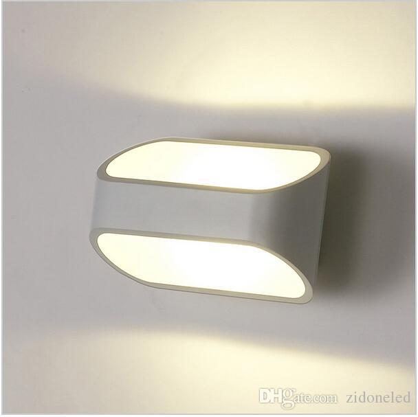 led wall lights bedside wall sconces indoor lighting 5W 10W Corridor Bedside Reading wall mounted lamp AC90-260V