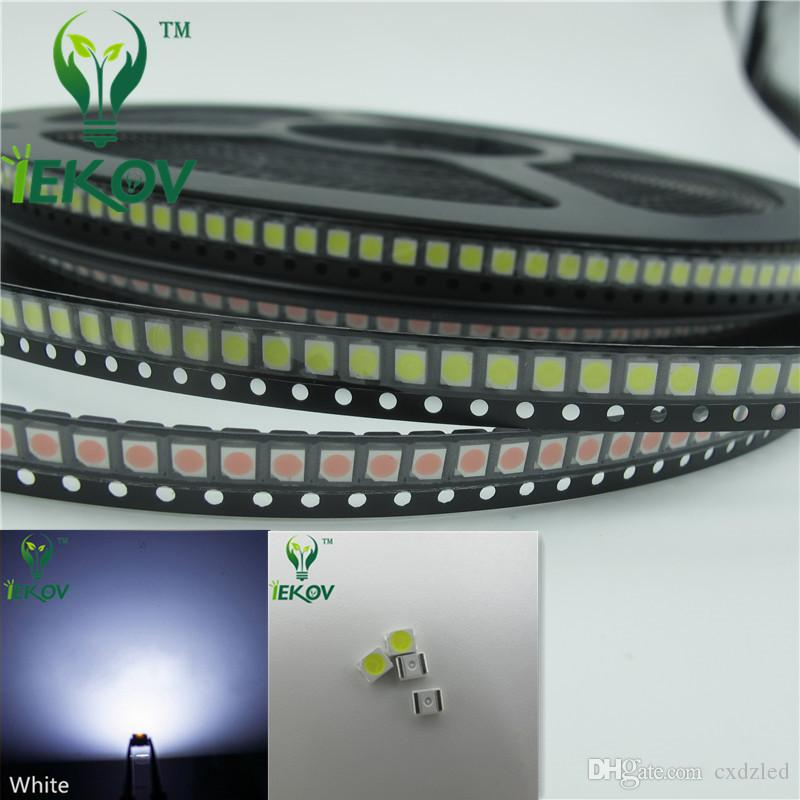 2835 0.2W SMD 5000pcs/lot White LED Super Bright Light Diode High Quality SMT Chip lamp beads Suitable for bicycle DIY
