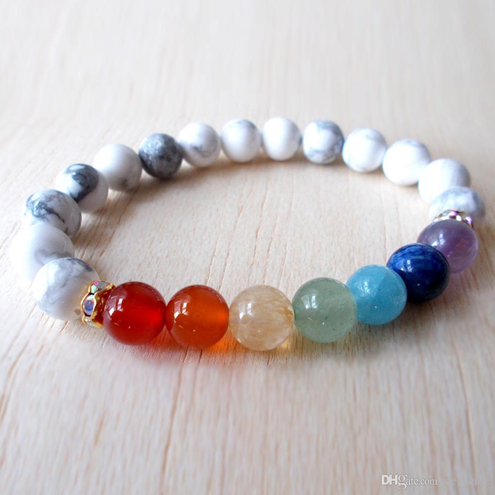bracelet chakra turquoise
