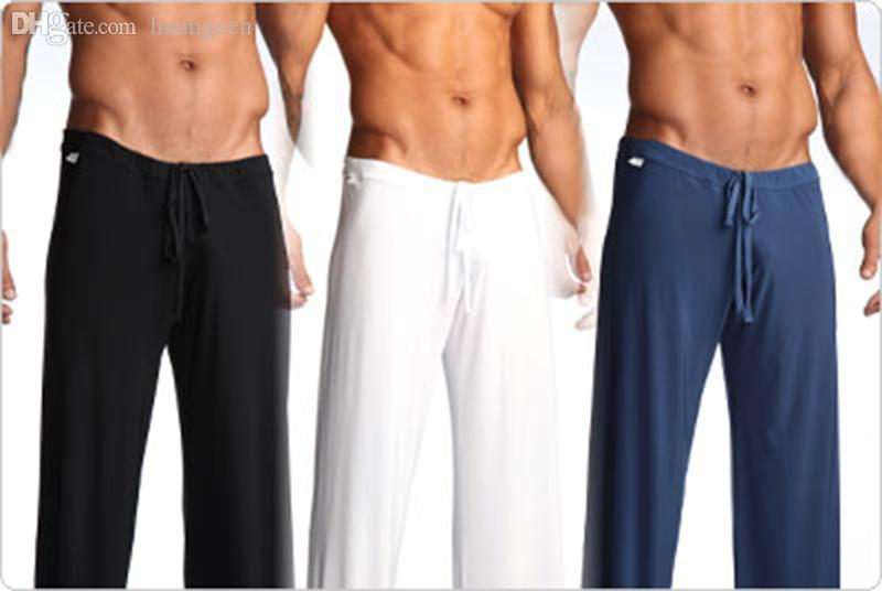 Wholesale-Home Casual Wear Trousers Men's Full Length Long Loose Sports Pants Fashion Gym Exercise Running Leisure Britches