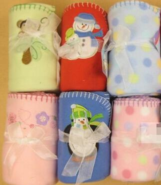 Kinderdecken Super weich und bequem 75x102cm Coral Fleece Babydecke Child Blanket