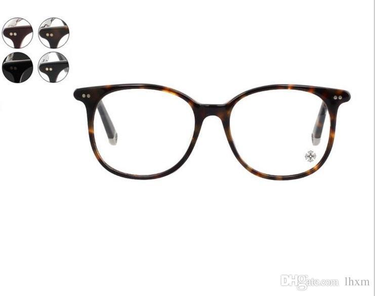 Venda quente Marca de Design Simples Óculos Homens Mulheres Óculos de Armação Computador Glasse Ópticos Óculos de grau oculos de grau MOTHE RFUNGIS 52mm com o caso