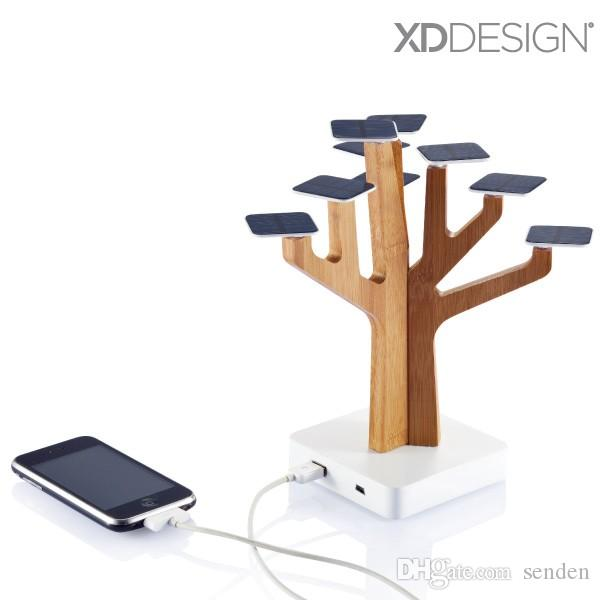 100% Original XDDesign Solar Suntree home decoration with charger for MP3/MP4 player, cell phone, Solar Suntree Power bank charger