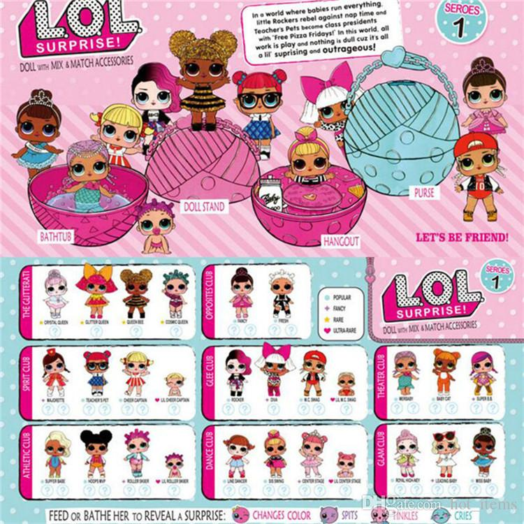 Girls dolls lol surprise doll dress up toys lil sisters series 2 girls dolls lol surprise doll dress up toys lil sisters series 2 lets be friends action negle Images