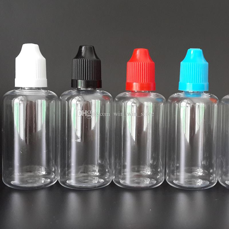 바늘 병 50ml PET Dropper 병 새로운 LDPE EYE DROPS E-cig OIL 병 E 액체 비어있는 Dropper 병 CHILD Proof Caps