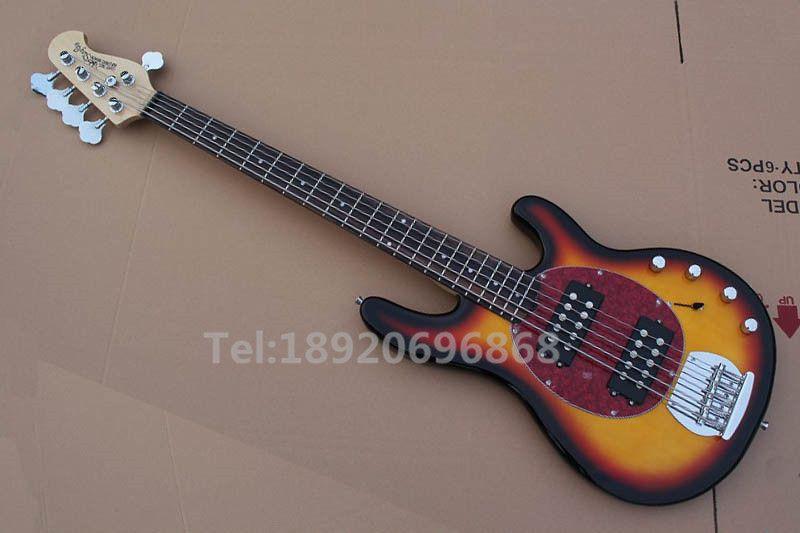 HOT SALE 3TS 5 cordes musique basse électrique Guitare basse Ray, En stock maintenant