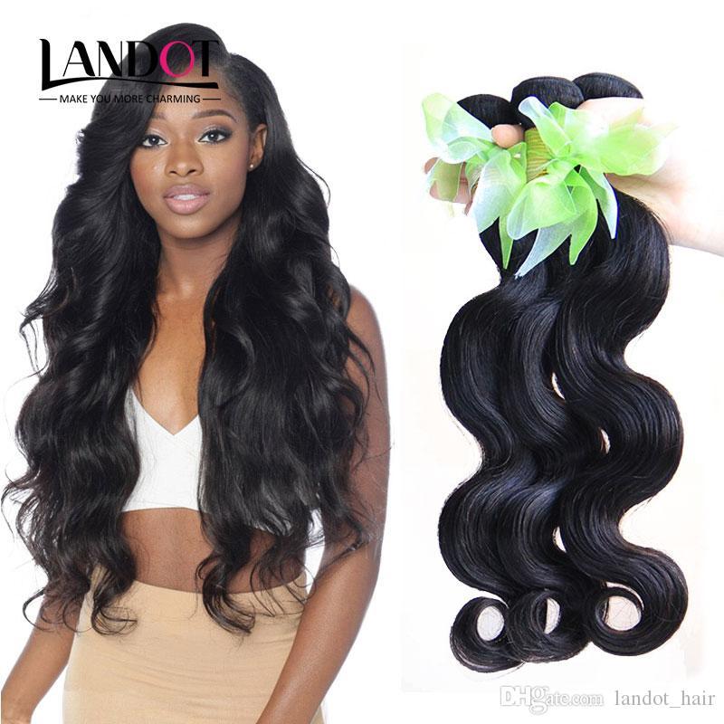 Indian Virgin Hair Body Wave 3/4/5 Pcs Unprocessed 6A Cambodian Malaysian Brazilian Peruvian Human Hair Weaves Bundles Natural Color Dyeable