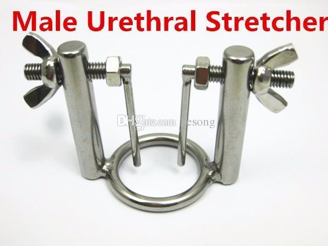 нержавеющая сталь уретры звук мужской целомудрие устройство пенис вилка петух кольцо металлические уретральные пробки расширители звучание секс-игрушки для мужчин