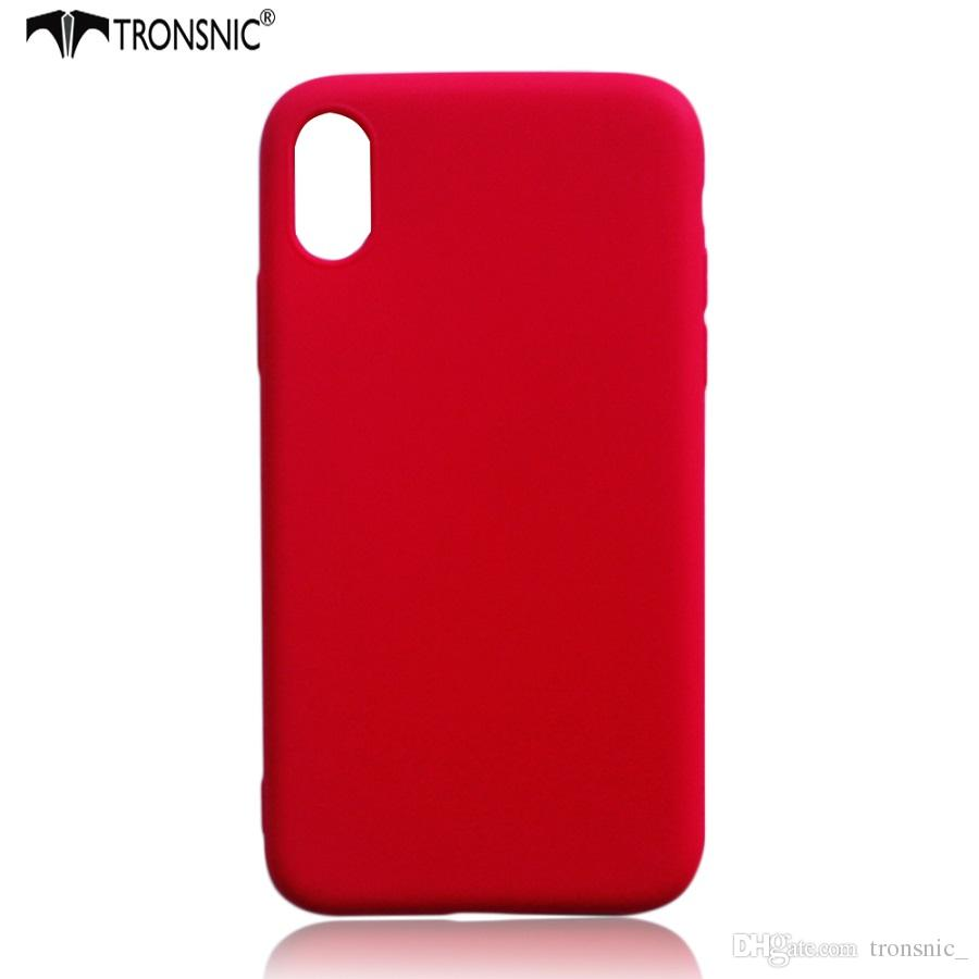Tronsnic Slim Phone Case For IPhone 8 Silicone Gel Soft 5s Se 6
