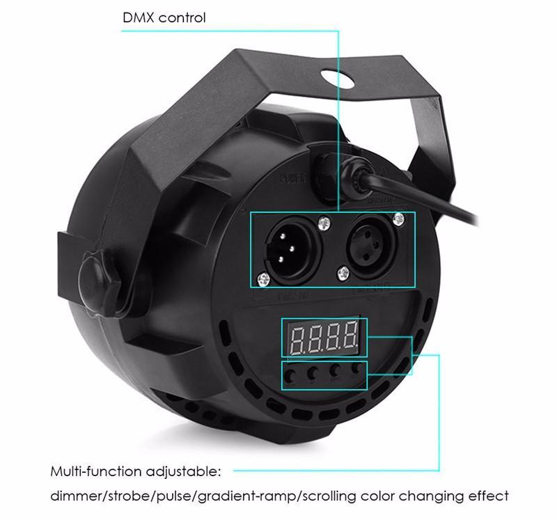 LED Par RGBW DMX512 Disco Lamp stage light9