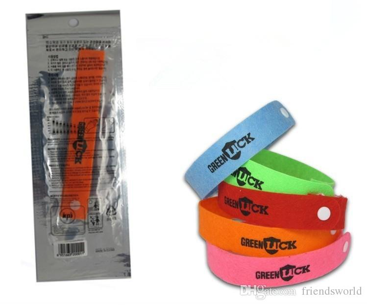 Fashion Mosquito Repellent Band Bracelets Anti Mosquito Pure Natural Baby Wristband Hand Ring DHL free shipping