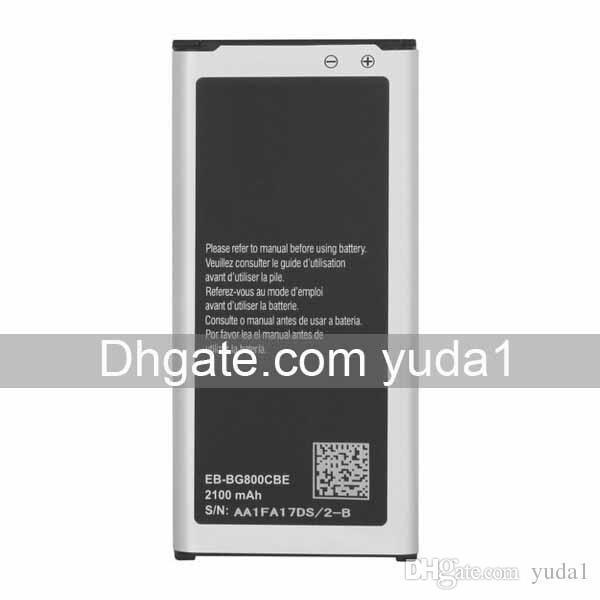 Ursprünglicher Soem S5 Mini EB-BG800CBE G800F Handy-Batterie 2100mAh geben Verschiffen-Großverkauf frei