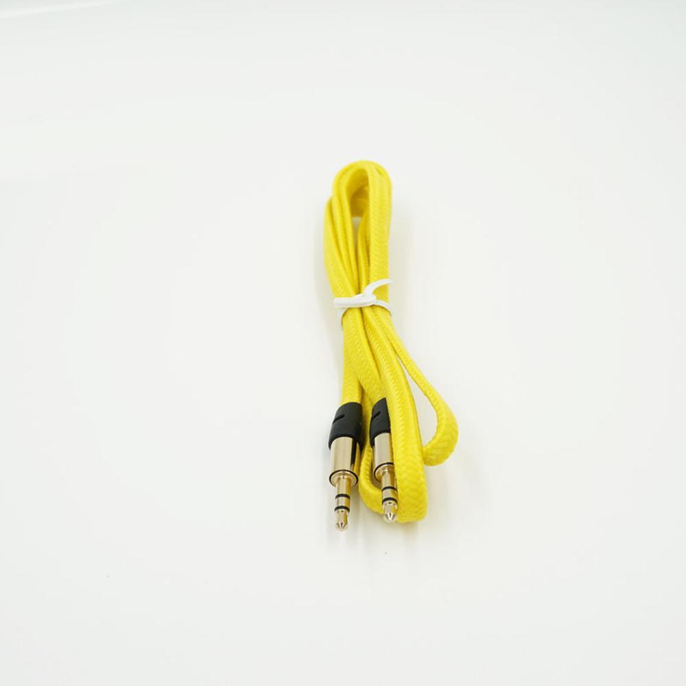 Hama Audio Kabel 3.5mm Stereo Audio Aux Kabel Geflochtene Gewebte ...