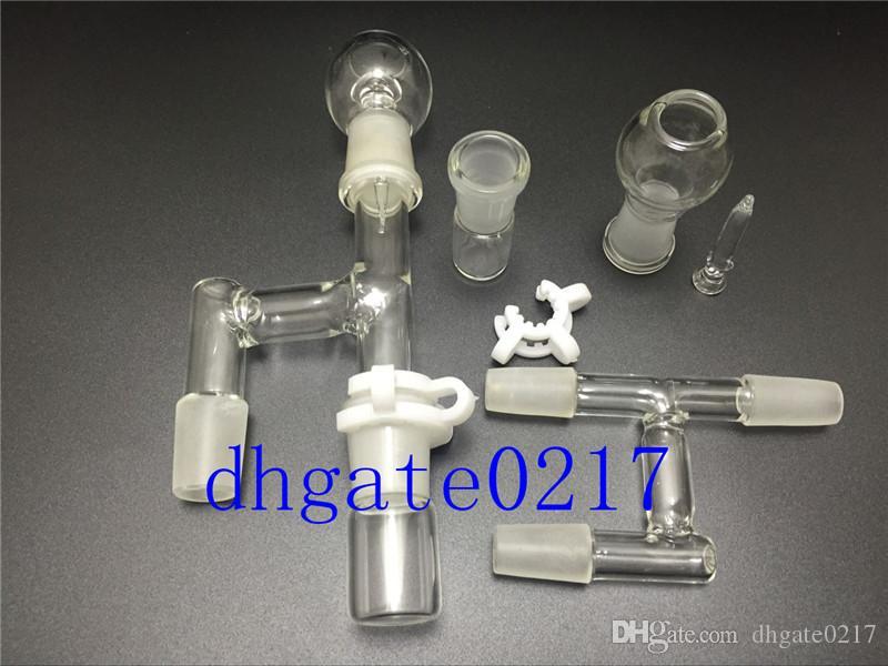 le plus récent adaptateur en verre de récupérateur d'huile de 18mm14mm pour le tuyau d'eau en verre de bangs