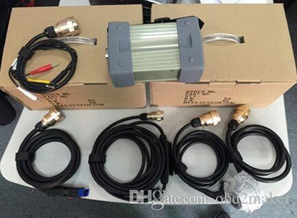 Super MB Star C3 Multiplexer Ferramenta de diagnóstico com cabos para carros Benz, caminhões com qualidade superior frete grátis