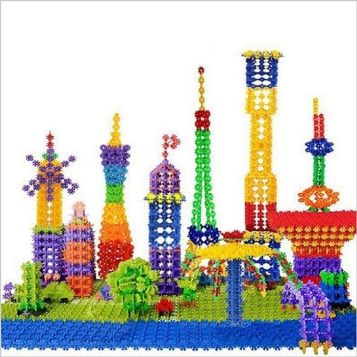 150 pezzi di Brain Flakes per bambini, PE Plastic Building Discs Toy, giocattolo educativo creativo ed educativo Grow Grow sicuro materiale non tossico! B
