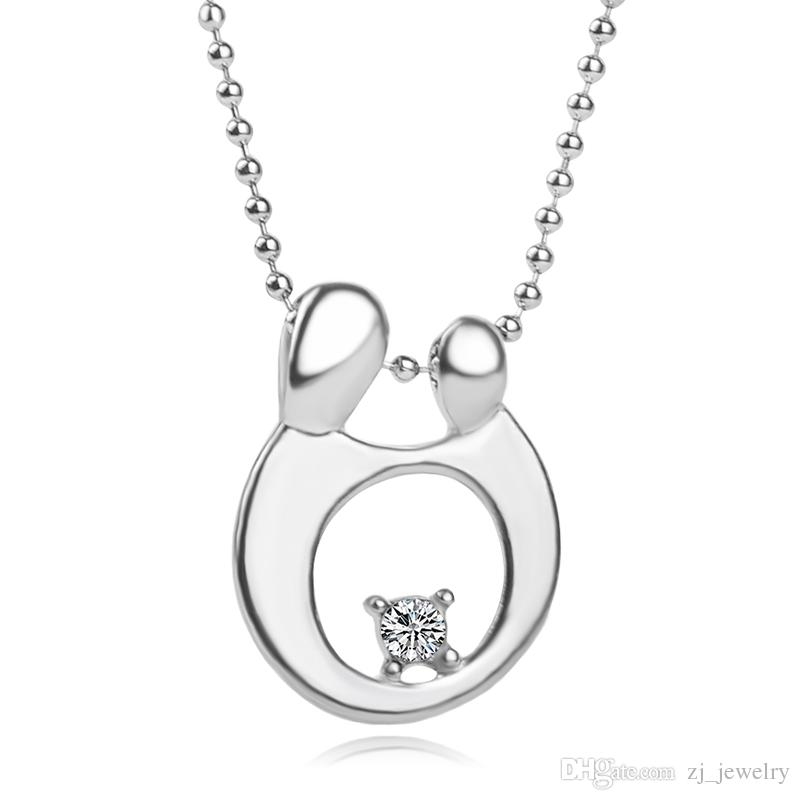 925 Sterling Silver Baby Mother Necklace