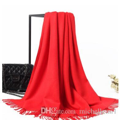 Donne uomini sciarpa unisex femmina maschio migliore qualità lana lane cachemire sciarpa pashmina nappe lady wrap shaw molto caldo nuovo inverno liquidazione vendita calda
