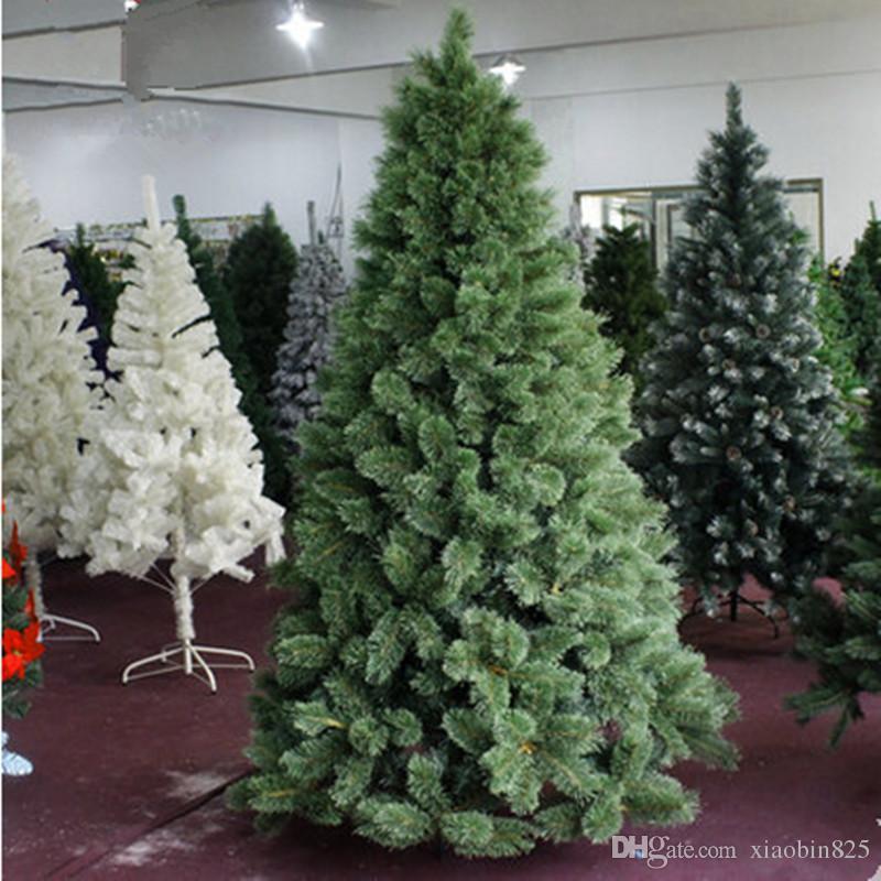 Neujahrs-Weihnachtsbaum 1.8 m / 180cm Colorado Weihnachtsbaum geschmückter Weihnachtsbaum Tannennadeln blühend Paket
