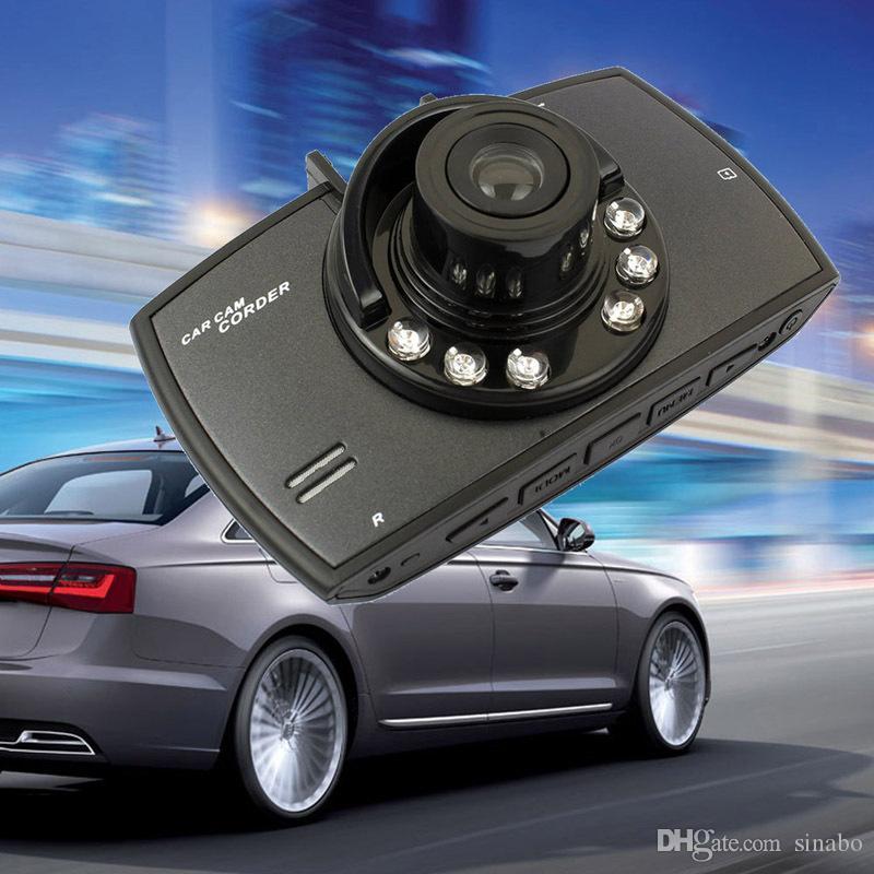 2.4 인치 60-70 학위 와이드 앵글 HD 자동차 DVR 카메라 레코더 모션 감지 야간 투시경 G- 센서