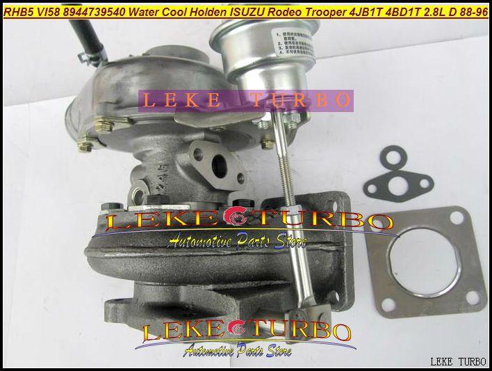 RHB5 VI58 8944739540 Water Cooled Turbine Turbo Turbocharger For ISUZU Trooper 4JB1T PIAZZA 4BD1T 2.8L D 1988-96 97HP (6)