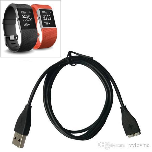 1M USB Cable de carga de carga de reemplazo para Fitbit Surge Super Watch Smart Watch accesorios inteligentes envío gratis
