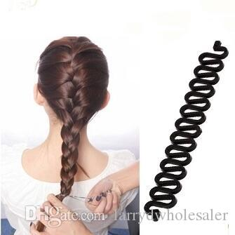 Fish Bone Hair Braiding French Braid Tool Roller Magic Twist Styling Bun Maker I