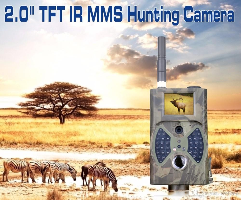 야외 사냥 모니터를위한 HD 1080P 12MP 사냥 흔적 카메라 비디오 스카우팅 적외선 게임 MMS GPRS