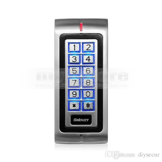 새로운 125KHz ID 카드 RFID 리더 키패드 도어 잠금 액세스 컨트롤러 가정용 / 사무용 안전 사용 브랜드 NEW