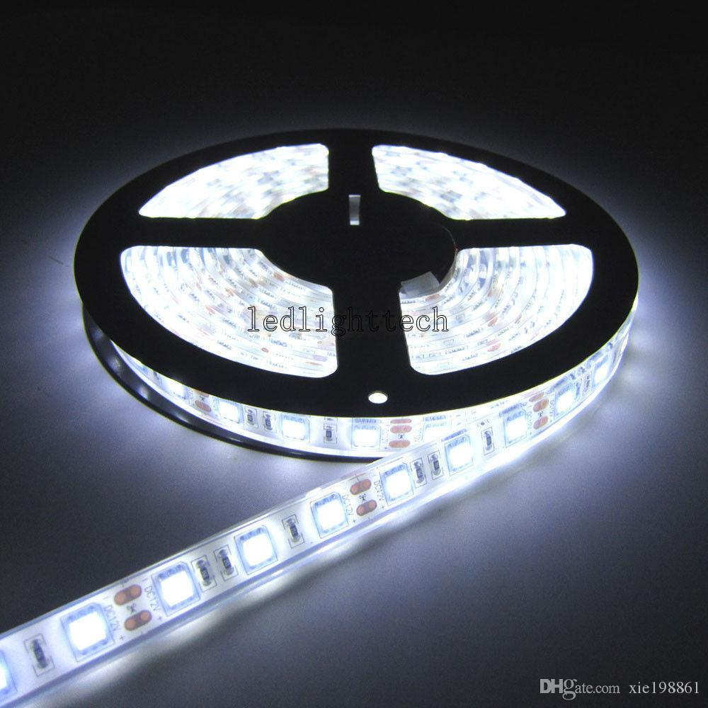 TOP 20REEL / LOTS 5M 5050 300 SMD Flex LED Light Strip IP68 Underwater Waterproof 12V, TUTTO IL COLORE