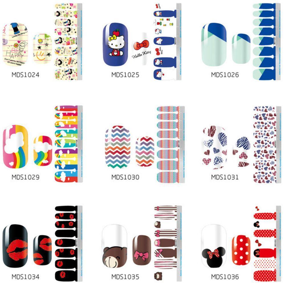 Новый маникюр наклейка наклейка ногтей маникюр Маникюр стикер высокое качество Mds003-mds056 женщин ногтей инструменты Бесплатная доставка
