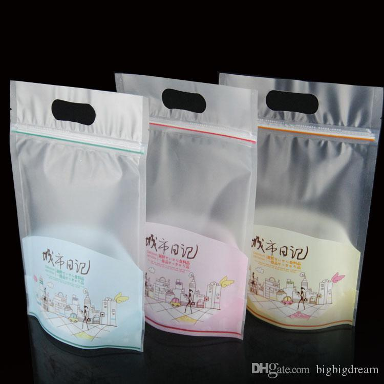New 15.3cm*23cm bread biscuit snack bags Snack pack bag Candy gift Cookies favor Package plastic food bags 200pcs free shipping