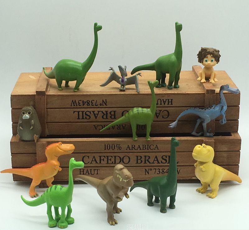 60pcs (5 set) dinosauri figurine in miniatura fata ornamenti da giardino bonsai decoracion jardin giocattoli casa delle bambole
