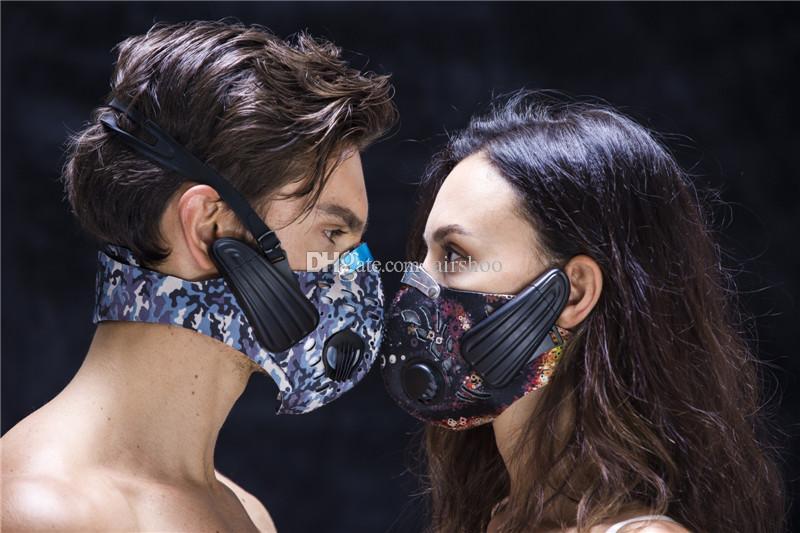 Lead-out Spor Maskesi Kablosuz Kemik Iletim Kulaklık eğitim maskesi Açık Spor için kablosuz Kulaklık spor maske DHL Ücretsiz