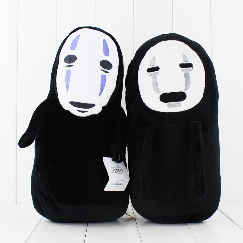 Anime dos desenhos animados Miyazaki Hayao A Viagem de Chihiro No Face Plush Macio Stuffed Animal boneca crianças transporte livre brinquedo