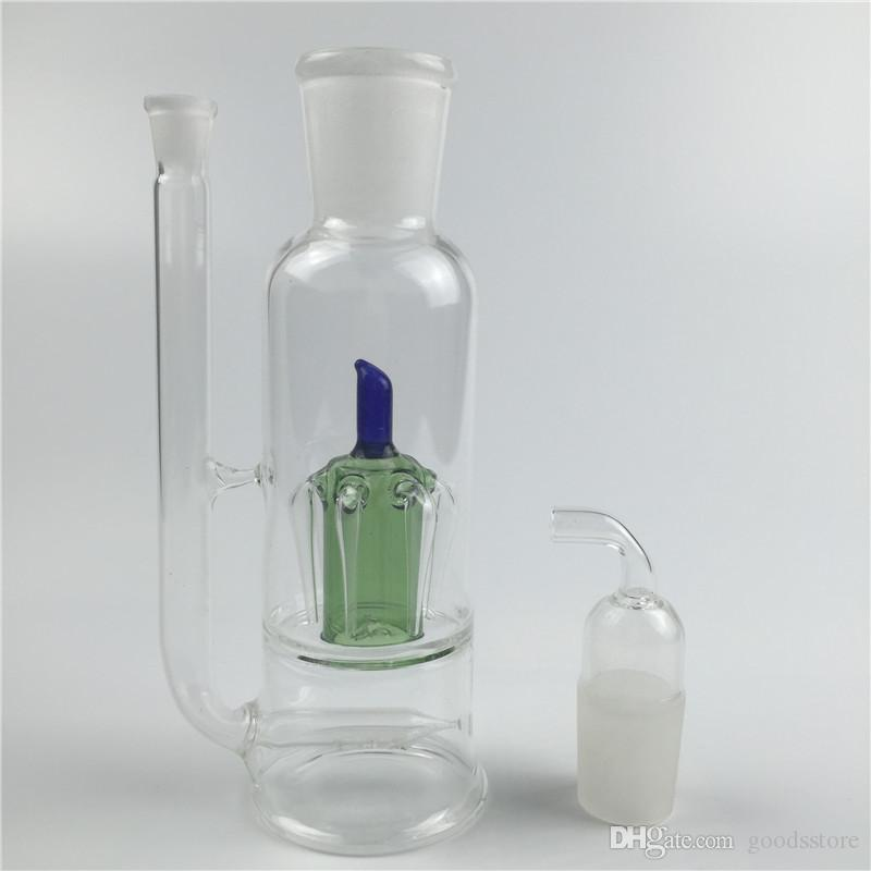 oil burner bong 10mm female colorful mini oil rigs for smoking glass water pipes fit glass oil burners thick recycler glass bong