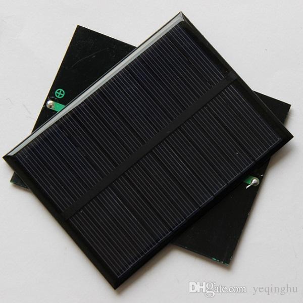 Wholesale 10pcs 1.2W 6V Small Solar Panels Pocrystalline Silicon Solar Cells DIY Solar Module Educational Kits Epoxy 112*84*3mm