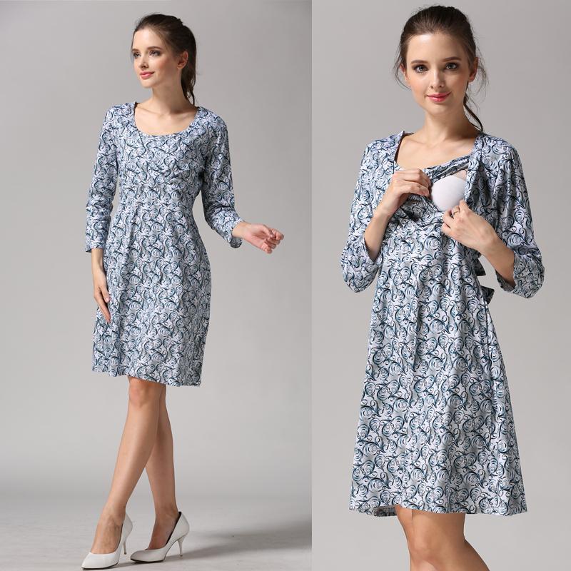 Short Nursing Dress